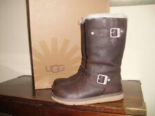 UGG KENSINGTON Boots Mädchen Damen Stiefel Leder Schuhe Gr.37 UK 4.5 neu