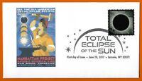 Manhattan Project. Oak Ridge Tennessee. Total Solar Eclipse of the Sun. FDC