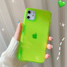 For iPhone 11 Pro Max XS XR X 8 7 Plus Case Candy Color Clear Soft Phone Cover