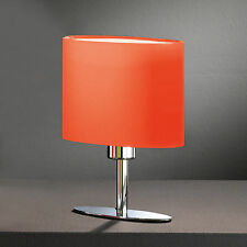 Lampe de Table Type Led Yimmi Veilleuse Tissu Orange Chevet Honsel