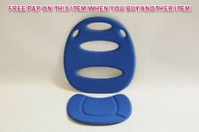 "OK BABY REPLACEMENT SEAT PAD FOR ""EGGY"" MODEL BABY/CHILD BIKE SEAT BLUE OKB457"