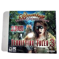 Terrifying Tales 3 Amazing Hidden Objects 10-Pack PC Computer DVD-ROM Video Game