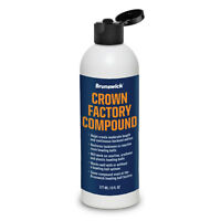 Brunswick Crown Factory Compound Bowling Ball Polish 6 oz. Bottle