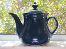 Million Dollar Coffee Tea Pot Marine Blue, No Hall China Marking on the Pot