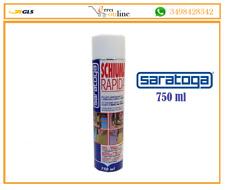 Schiuma poliuretanica espansa SCHIUMA RAPIDA uso manuale 750ml=40lt Saratoga
