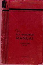 RCA RADIOTRON MANUAL R-10 1933 PDF