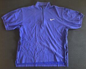 VINTAGE Nike Andre Agassi Tennis 1/4 Zip (Men's L/XL)