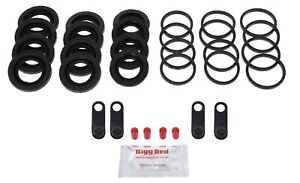 for PORSCHE CAYENNE 02-10 FRONT Brake Caliper Seal Repair Kit 330mm discs 17z