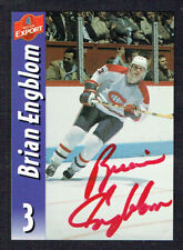 Brian Engblom #13 signed autograph auto Molson Export Hockey Trading Card