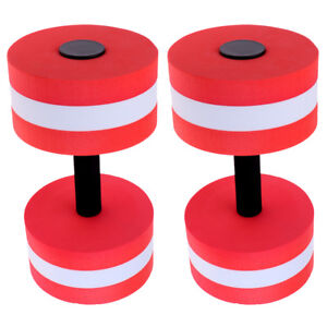 2 x Water Aerobics Dumbbells MEDIUM Resistance Pool Aquatic Fitness Training