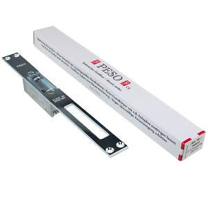 elektrischer Türöffner Peso 300 GA, Schließblech 250 x 25 u. Entriegelungshebel