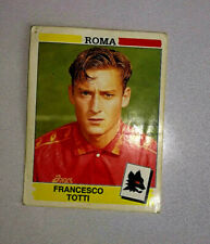 Totti Roma 1994 95 figurine calciatori panini con velina originale n.320 rookie