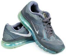 newest e4357 e4db6 Nike Air Max 2014 Men Sz 9 Shoes Anthracite Photo Blue Reflect Silver  621077-004