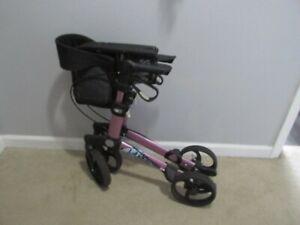 Gemino 30 S Rollator walker Pink 19'' seat height Excellent! Handicare