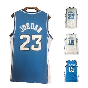 Throwback Legend Men Jordan #23 Carter #15 Basketball Jersey School Stitched