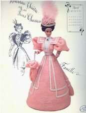 Annie's Gibson Girl Collection April 1994 Gay Nineties Crochet Leaflet