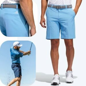 Adidas Ultimate 365 Short Hommes Golf Business Pantalon Chino Bermuda Capri Bleu