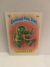 1985 Garbage Pail Kids Lizard Liz #38b- Glossy, Psa Graded 8, Os1, Series 1