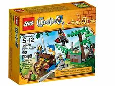 Lego Castle 70400 FOREST AMBUSH Knights Shield Dog Mace Helmet Money Jewels NISB