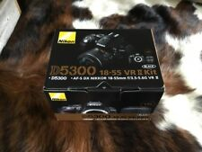 Nikon D5300 Dslr Camera w/ New 18-55mm Af-p Stepping Vr Motor Nikkor Lens {1}