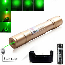 10 Mile Powerful Green Laser Pointer Pen 532nm 5MW Lazer Light Beam Burning Zoom