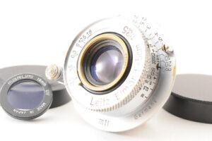 【Excellent+】Leica Leitz Elmar 50mm 5cm F/3.5 L39 LTM MF Lens +19mm Filter JAPAN