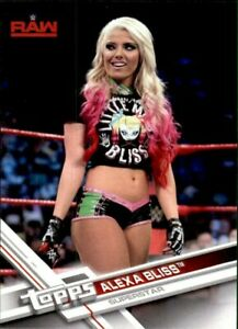 2017 Topps WWE RAW Alexa Bliss #R-21