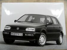 Photo photographie photo Graph VOLKSWAGEN GOLF 09/95 sr1017