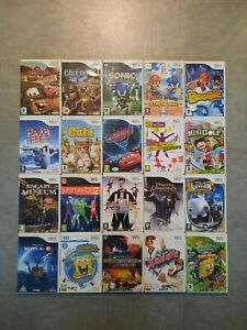 Bundle Of 20 Nintendo Wii Games Sonic Mario Dance Call of Duty Rayman Kids Golf