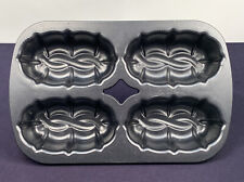 Nordic Ware Celtic Knots Mini Loaf Bundt Pan 8 Cup Bread