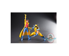 Marvel Universe X‐Men '92 Wolverine & Jubile ArtFX + Statue Kotobukiya