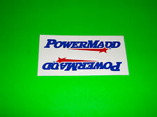POWERMADD NUMBER PLATE HANDGUARD WINDSHIELD ATV QUAD SNOWMOBILE STICKERS DECALS