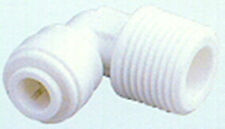 """Quick Connect Fitting1/8"""" Male pipe thread x1/4"""" Quick John Guest style Elbow"""