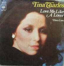 "7"" 1976 KULT! TINA CHARLES : Love Me Like A Lover /VG+"