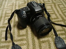 Very Nice Sony α (alpha) A300 10 MP Digital SLR DSLR Camera + 18-70mm Lens