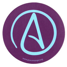 MS190 - Atheist Universal A Single Symbol Mini Sticker