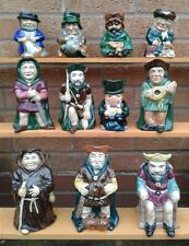 ROY KIRKHAM POTTERY - SELECTION OF CHARACTER / TOBY JUGS.
