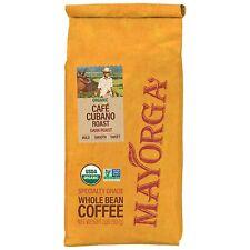 2LB Mayorga USDA Organic Coffee Cafe 100% Arabica Dark Roast Whole Bean 2 Pounds