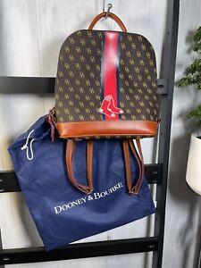 "Dooney & Bourke Boston Red Sox ""Zip Pod""Stadium Signature Backpack, BNNT"