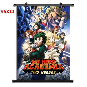 5811 My Boku no hero academia Decor Poster Wall Scroll cosplay