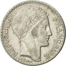 [#453508] France, Turin, 20 Francs, 1938, Paris, AU(50-53), Silver, KM:879