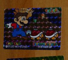 SUPER MARIO WORLD BANPRESTO CARDDASS CARD PRISM CARTE 18 NITENDO JAPAN 1993 **