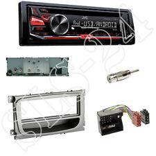 JVC KD-R471 CD/USB Radio + FORD C-MAX Focus CC DA3 Blende+Fach + Adapter+Antenne