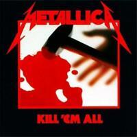 METALLICA Kill 'Em All CD BRAND NEW Gatefold Sleeve