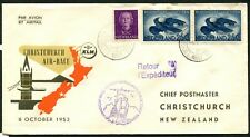 NETHERLANDS - 1953 'KLM AIR RACE - HOLLAND to NEW ZEALAND'   [A6607]