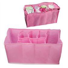 Porta Pannolini Roba Sacchetto Borsa Bambini Infanzia Rosa 7 Scomparti Biberon