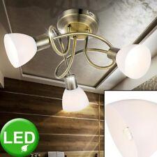 Plafonnier Led Lampe Vieux Laiton Éclairage Chambre à Coucher Lampe Spot