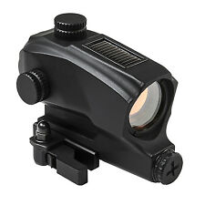 NcStar SPD Solar Red Dot Reflex Optic Sight & Locking Quick Release Mount