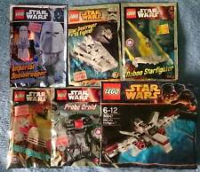 Lot Lego Star Wars   x 6 polybag