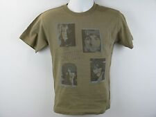 The Beatles Pictures of John, Paul, George & Ringo Music Band Graphic T-Shirt S